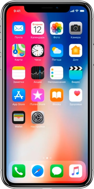 Смартфон APPLE iPhone X 64GB Space Gray (MQAC2FS/A)